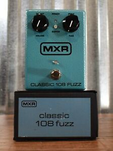Dunlop MXR M173 Classic 108 Fuzz Guitar Effect Pedal