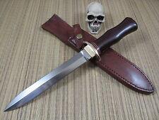 Alex Shamgar Israel Maker Dagger Custom Hand Made D2 Steel Blade W/Sheath