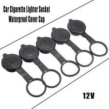 5pcs Car Cigarette Lighter Socket Cover Caps Waterproof 12V Outlet Lid Fitness