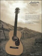Larrivee Acoustic Guitar Parlor Model P-09 R Indian Rosewood 8 x 11 ad print