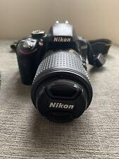 Nikon D D3300 24.2MP Digital SLR Camera W/Nikkor 55-200 mm 1:4-5.6 GII ED