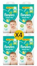 Pampers bébé sec taille 4 maxi giga pack 120 couches (4 x 120 couches)