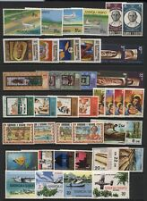 Samoa Collection Commemorative Stamps Sets Unmounted Mint
