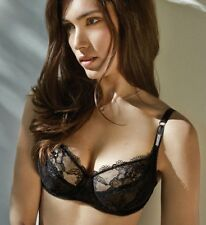 NEW $86 Wacoal Marquise Stretch Lace Underwire Bra Black SZ 38B WE101001
