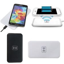 Qi Inalámbrico Cargador Carga Dock Pad Mat USB Cable Por iPhone Samsung Google