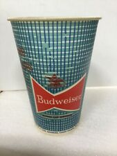 Vintage Budweiser Beer Wax Cup - Where There's Life There's Budweiser, An. Busch