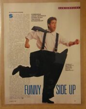 1980's JERRY SEINFELD Comedian TV SHOW Original 1989 Print Article Clipping