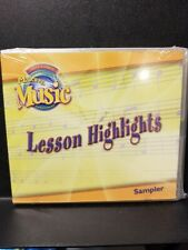 Making Music, Lesson Highlights, Sampler, Software, Pearson Scott Foresman, CD