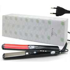 "NEW 360 ROTATING 1""Inch Titanium  Hair straightener Flat Iron Regular Euro plug"