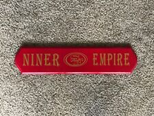 San Francisco 49ers Niner Empire wall sign