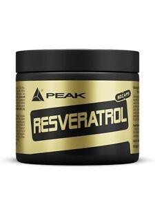 Peak - Resveratrol  - 90 Kapseln / Wirkstoff des Rotweins NEU