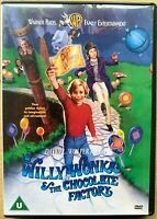 Willy Wonka and the Chocolate Factory DVD 1971 Charlie Roald Dahl Family Classic