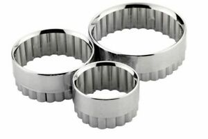 Chef Aid Pastry Cutters Metal (Set of 3) [2532]