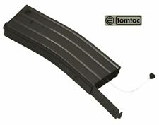 AIRSOFT M SERIES METAL BLACK FLASH MAGAZINE MAG 360RDS ASG PULL CORD TOMTAC