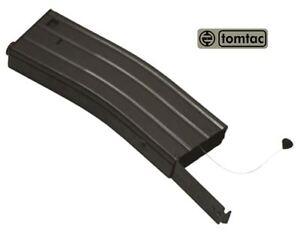 SOFTAIR TOY M SERIES METAL BLACK FLASH MAGAZINE MAG 360RDS ASG PULL CORD TOMTAC