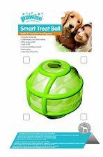 Palla per cani gioco interattivo spargi ricompensa 8,5 cm Verde Smart Treat Ball