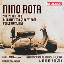 Barry Douglas, Nino - Sym 3 / Divertimento Concertante / Cto Soiree [New CD]
