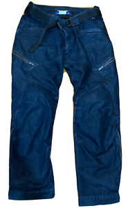 BMW Motorrad City 2 denim pants size XXL with armor in excellent condition
