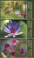Cayman Isl Flowers Stamps 2020 MNH Queen Elizabeth II Park 3x 10v S/A Booklet