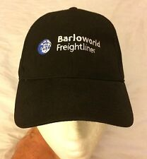 Barloworld Freightliner Black Cap Hat Adjustable Memphis Trucking  NWOT