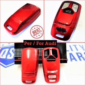 Cover Protettiva RIGIDA per Chiave Audi Q5 FY guscio ROSSO Mascherina Telecomand