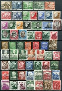 (896) 61 VERY GOOD USED GERMANY 1933 - 1935 ISSUES