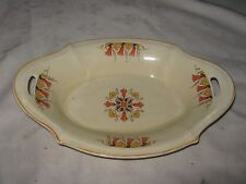 An Old A J Wilkinson Royal Staffordshire Honeyglaze Bell Flowers Bon Bon Dish