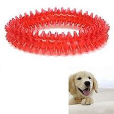 Juguete Perro Cachorro Anillo de dentición Dental Dientes Sanos Encías Fetch Plástico Pet Chew