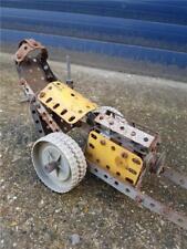 Vintage Meccano Drag Racing Car Model Part Built for Finishing