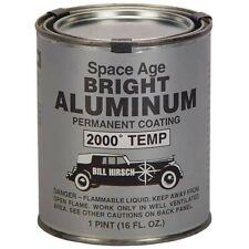 Bill Hirsch Space Age Bright Alum High-Temp Exhaust/Manifold Paint, Pint #BH-ALP
