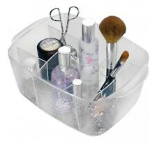 InterDesign Rain Clear Cosmetic Organizer Bin