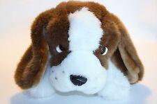 "Caltoy Saint Bernard Plush Soft Puppy Dog Lovey Stuffed Animal 17.5"""