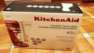 KitchenAid Gourmet Pasta Press Extruder for Stand Mixer 5KSMPEXTA