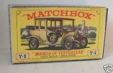 Repro Box Matchbox MOY Nr.03 1910 Benz Limousine