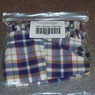 """Longaberger Woven Traditions Plaid MEASURING Basket Liner 9"""" inch ~ Brand New!"""
