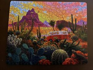 "Nautilus Wooden Jigsaw Puzzle, ""The Baja Trail"" 500 pcs, 15"" X 12"""