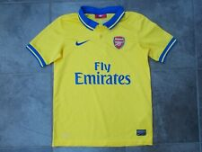 ARSENAL polo shirt...medium youth size...mint condition...