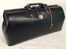 Vintage Doctor Medicine Bag With Key Brand Kruse 25-16 Top Grain Cowhide *Nice*
