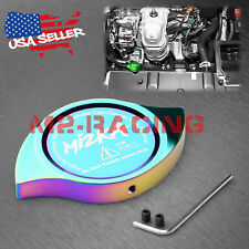 Neo Chrome Billet Aluminum Radiator Protector Pressure Cap Cover Performance