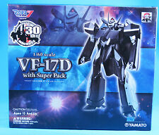 Yamato Macross 1/60 VF-17D Valkyrie with Super Packs