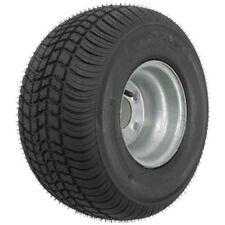 Trailer Tire On Rim 205//65-10 20.5X8.0-10 205-65-10 LRC 5 Hole Lug Silver Kenda