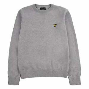 Lyle and Scott Crew Neck Jumper Youngster Boys Pullover Full Length Sleeve Block