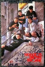 New Kids on the Block # 11- 8 x 10 Tee Shirt Iron On Transfer railing