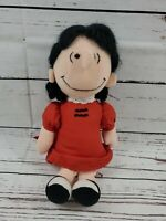 """Vtg 1963 Lucy-Charlie Brown Peanuts-United Feature Syndicate Stuffed Doll 12"""""""