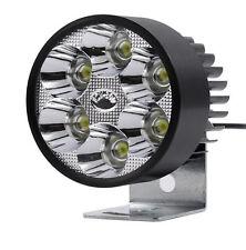 12V 30W LED Light Motorcycle Scooter Moped Boat High Power Headlight Spot Light