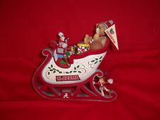Displayalabama Christmas Sleigh - Danbury Mint