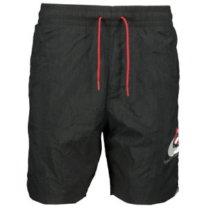 Nike Air Jordan Black Poolside Shorts