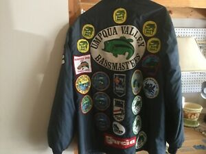 RARE Vintage Bass Master 1981 jacket with Multiple patches!