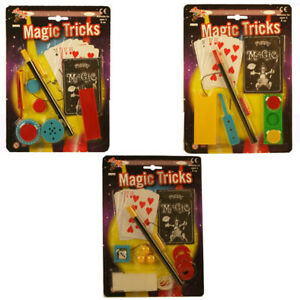 Magic Tricks for Kids Pocket Money Toys Become a Great Magician Choose Your Set