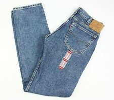 Levis Vintage 505 Denim Blue Jeans BRAND NEW Made in USA size 33x34